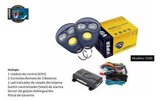 Alarma Viper Para Auto 3100v 3 Botones 1 Vía