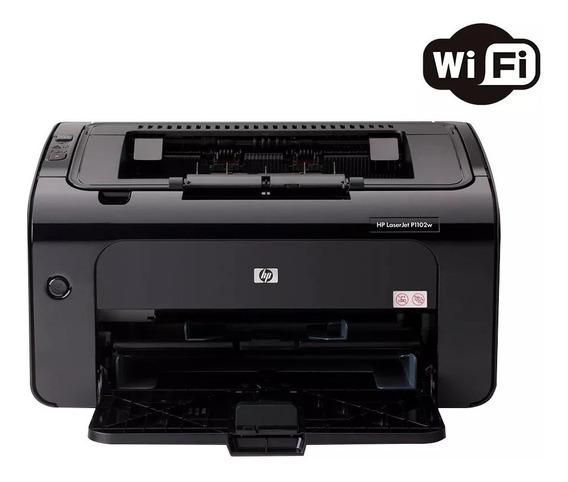Impressora Hp Laserjet Pro P1102w Laser Mono