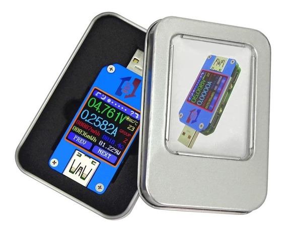 Voltímetro Amperímetro Medidor De Tensão Carga Usb 2.0 Um25c