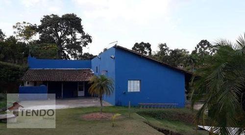 Chácara Com 4 Dormitórios À Venda, 4000 M² Por R$ 690.000 - Recanto Maria De Jesus - Suzano/sp - Ch0051