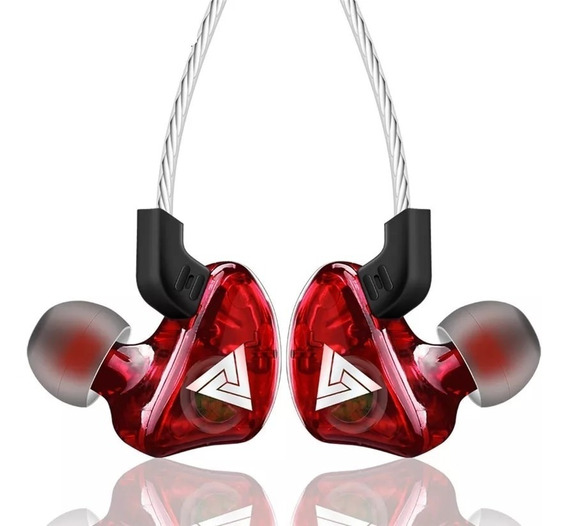 Fone De Ouvido In Ear Qkz Ck5 Pro Retorno De Palco Dj Gamer