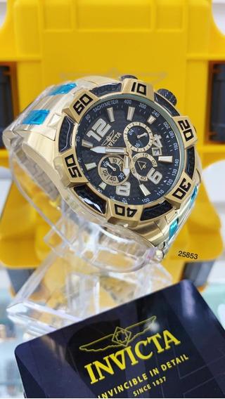 Relógio Invicta Pro Diver 25853 - Ouro 18k C/maleta