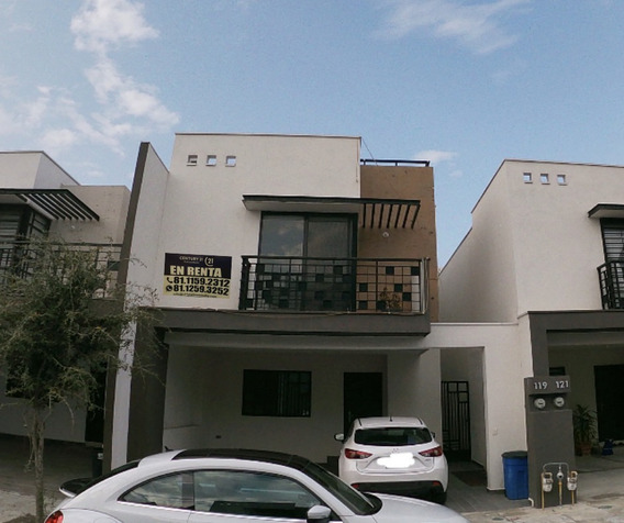 Renta De Casa En Apodaca, N.l.