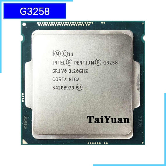 Intel Pentil G3258