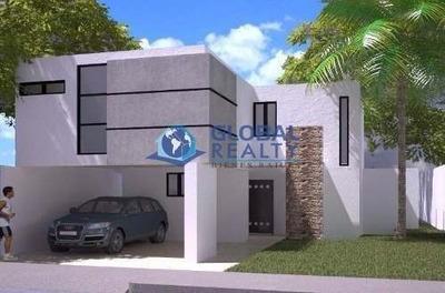 Casa En Venta En Chuburná, Cerca Glorieta Cantaritos Cv-4219