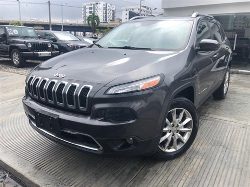 Jeep Cherokee Altitude 2014 Full Clean Panoramica 4x4 Piel
