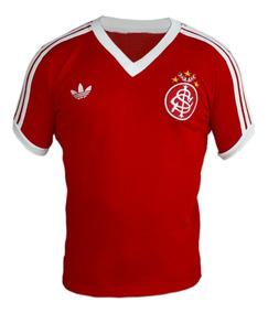 Camisa Retrô Internacional De Porto Alegre Anos 80
