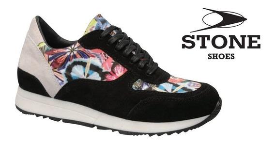 Zapatilla Stone - Línea Premium Mujer