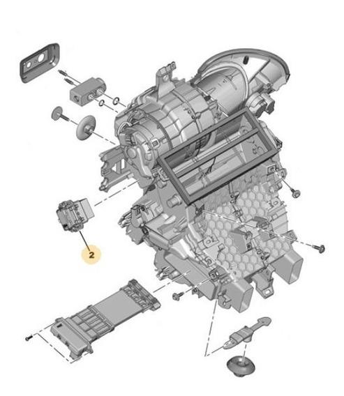 Comando Motor Climatización Peugeot 207 1.6 Thp