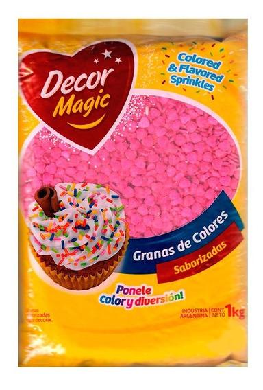 Granas Decor Magic 1 Kg ( Sprinkles - Ciudad Cotillón Envíos