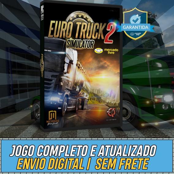 Euro Truck Simulator 2 1.35 - Pc Mídia Digital + Mapa Brasil