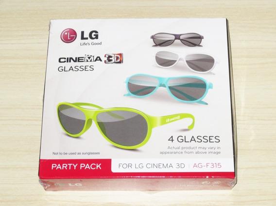 Oculos 3d Tv LG Ag-f315 - Caixa C/4 Unidade Lacrado Frete 20