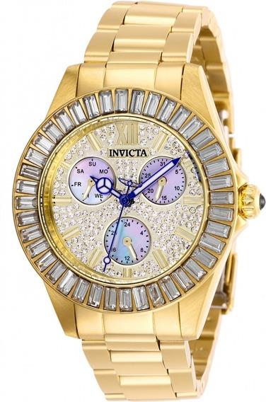 Relógio Invicta Feminino 28449 Angel - Aqui É 100% Original