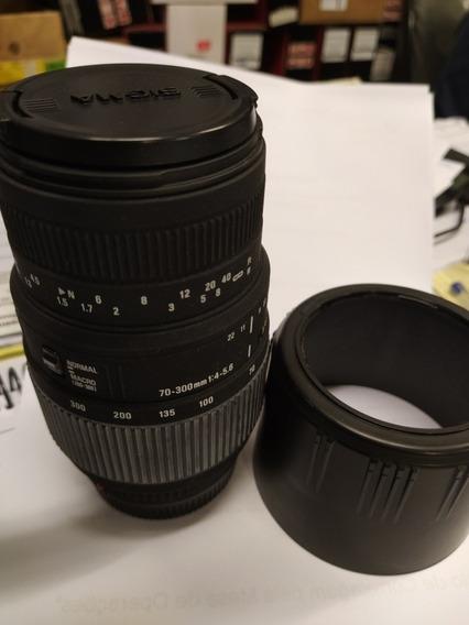 Lente Sigma 70 300mm F4-5.6 Dg Macro Para Sony Alpha