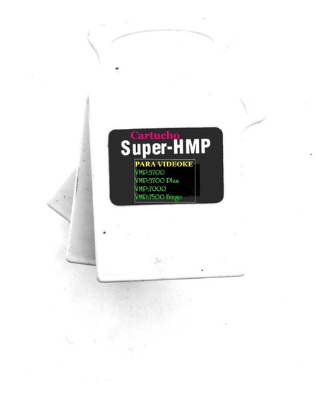 Cartucho Videoke Compactado Hmp 16 Ao 22 Juntos P/ Raf 3700
