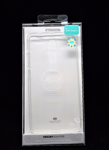 Funda Redmi Note 4 Goospery Transaparente Jelly Case