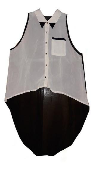 Camisa De Gasa Larga Para Calzas, Liquidación