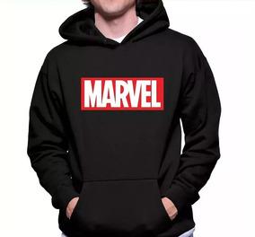 Moletom Marvel Geek Heróis Masculino Feminino Blusa Canguru