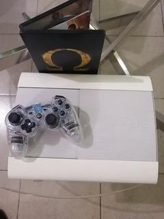 Ps3 Super Slim Blanco Playstation Consolas 250 Gb Consolas Y