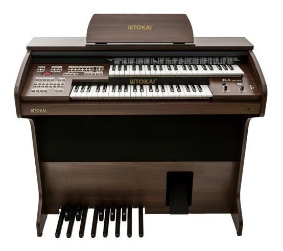 Órgão Tokai D2 Dual Voice Com Usb E Brinde Especial
