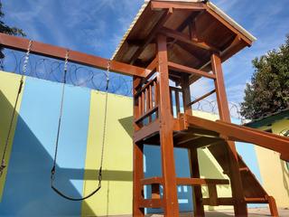 Parque Infantil. Hamaca - Tobogan - Escalador - Mangrullo