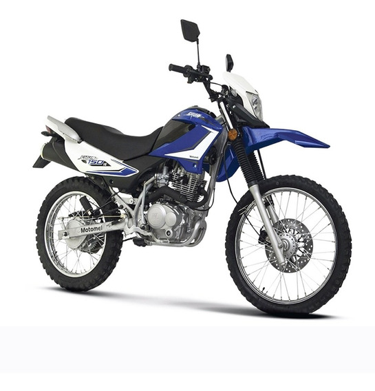 Moto Motomel Skua 150 Mod 2019 0km 2019 Azul