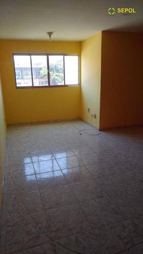 Apartamento Com 2 Dormitórios À Venda Por R$ 220.000,01 - Quitaúna - Osasco/sp - Ap0356