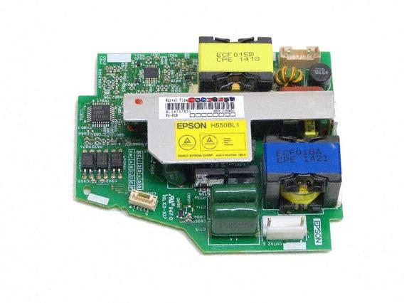 Ballast Fonte Da Lampada Projetor Epson S18+ H552a Original