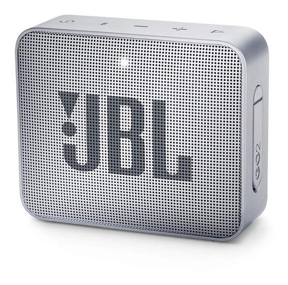 Caixa Jbl Go 2 Bluetooth A Prova D´água Original - Gray