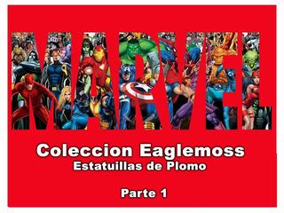 Eaglemoss Figuras De Plomo - Marvel - 1