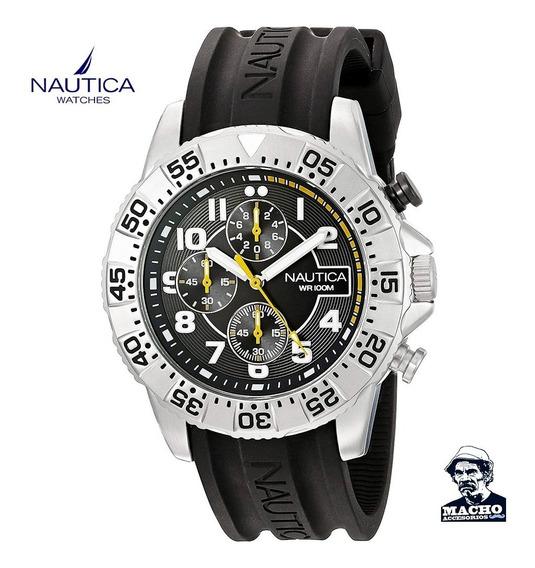 Reloj Nautica Nsr 104 Nad16510g Original Caja Con Garantia
