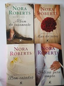 Box De 4 Livros Quarteto De Noivas - 4 Livros Nora Roberts