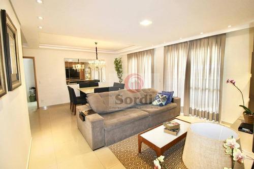 Apartamento À Venda, 126 M² Por R$ 845.000,00 - Jardim Irajá - Ribeirão Preto/sp - Ap3238