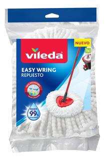Repuesto Trapeador Mop Microfibra Easywring And Clean Vileda