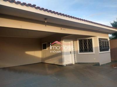 Casa Com 4 Dormitórios Para Alugar, 223 M² - Jardim Colina - Americana/sp - Ca1044