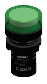 Sinaleiro Led Soprano 220v Cores - Obs Na Descrição