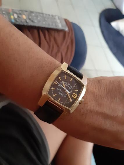Relógio Diesel Dourado. Não Casio Nem Technos Nem Gshock