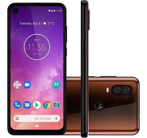 Smartphone Motorola One Vision 6.3 , 128gb, Câmera 48mp, Octa-core, Bronze - Xt1970-1br