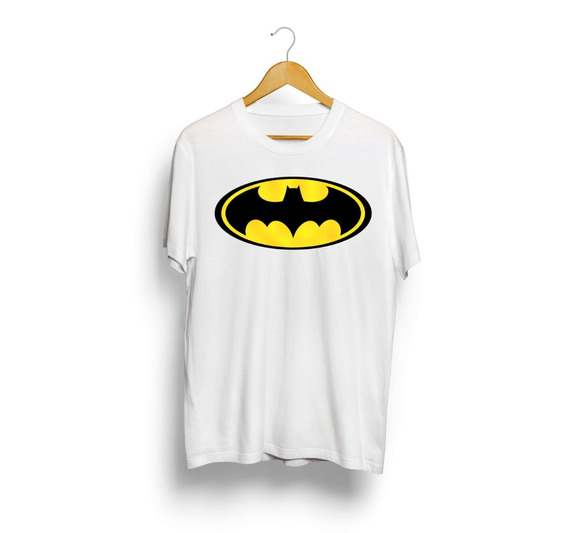 Camiseta T-shirt Estampada Batman Super Herói Pronta Entrega