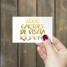 1000 Cartões De Visita