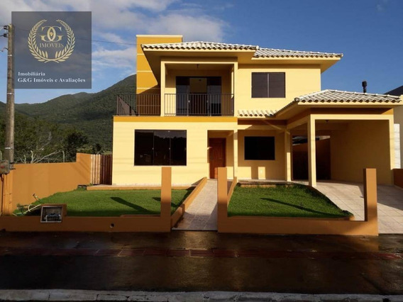 Casa Com 5 Dormitórios À Venda, 230 M² Por R$ 650.000 - Praia De Fora - Palhoça/sc - Ca0619