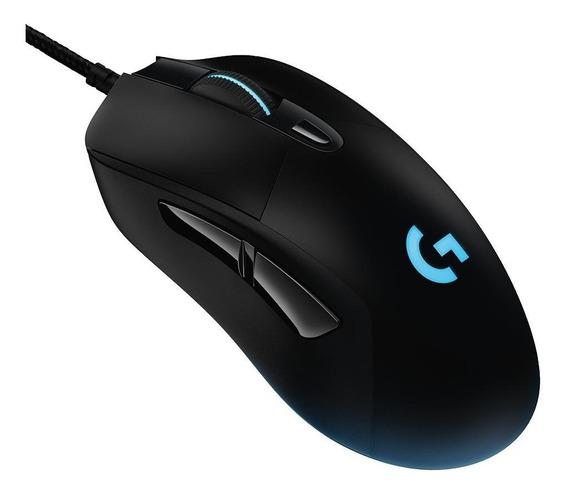 Mouse Logitech G403 Hero 16k Rgb Lightsync 6 Botões 16000dpi