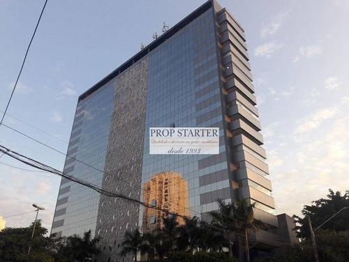 Imagem 1 de 15 de Andar Corporativo Para Alugar, 632 M² Por R$ 30.000,00/mês - Jardim Caravelas - São Paulo/sp - Ac0001