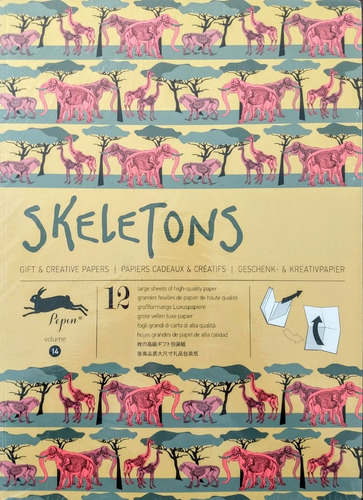 Libro Skeletons Gift & Creative Papers