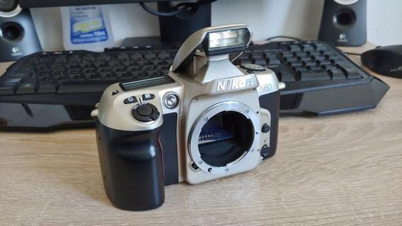 Nikon N60 (corpo De Câmera) - Filme Não É Digital.