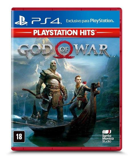 God Of War Playstation Hits Ps4 Mídia Física Novo Lacrado