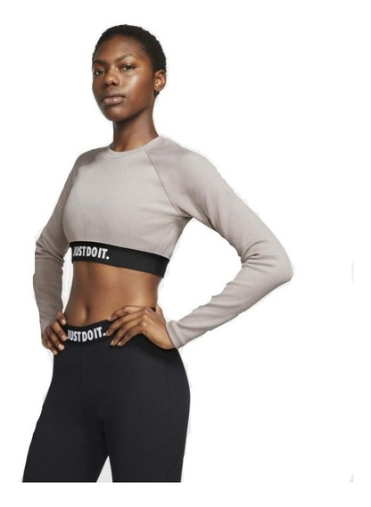 Top Nike Just Do It Cropped Mujer