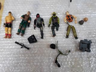 Comandos Em Ação Peças De Reposição Gi Joe Armas Etc