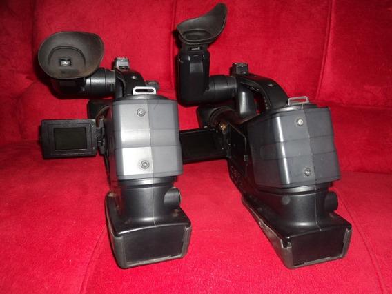 02 Filmadoras Panasonic Mini Dv. Dvc 20 P .para Tirar Peças