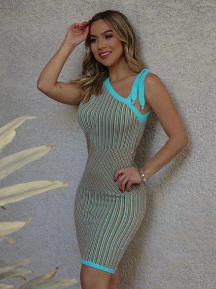 Vestido Feminino Vestido Moda Verão
